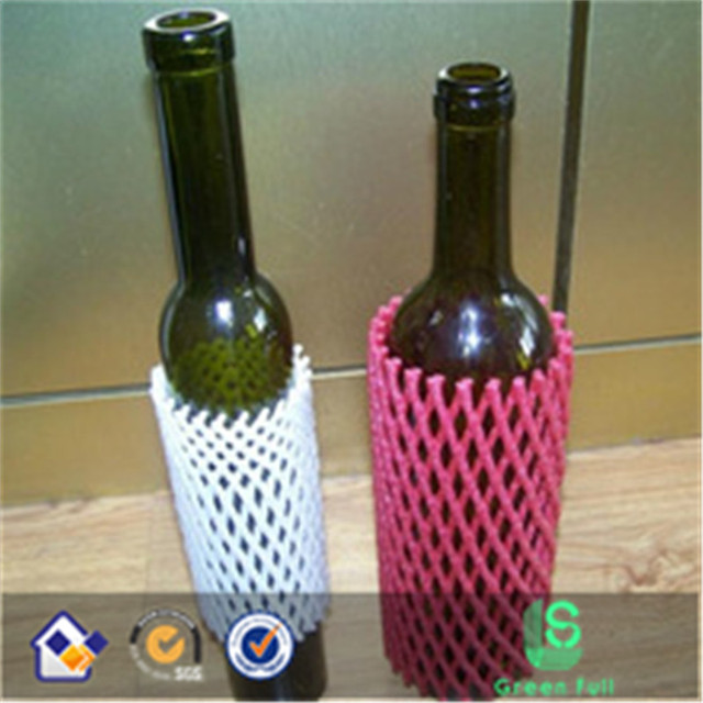 PE colorful wine bottle protection net